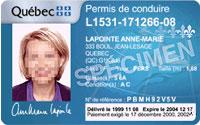 permis conduire quebec